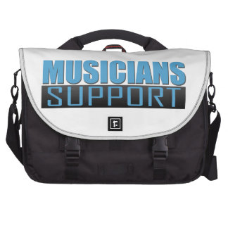 Musicians Support logo Bag For Laptop