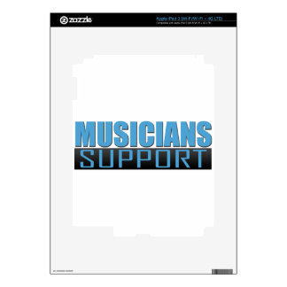 Musicians Support logo iPad 3 Decal