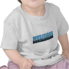Musicians Support logo Tshirt