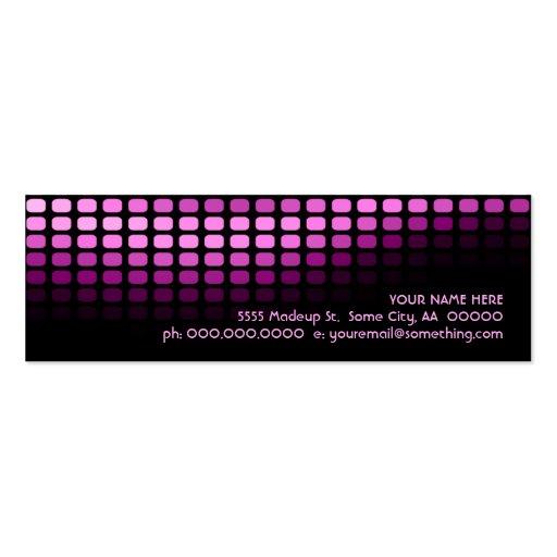 musicmeterz. tarjetas de visita