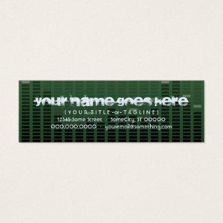 musicmeterz. v2. mini business card