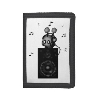 Musicmimi Trifold Wallet