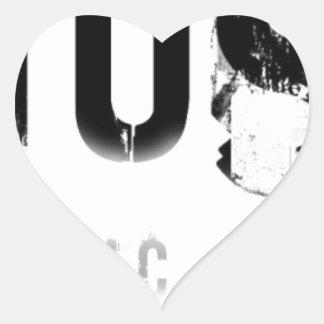 Musicnolife Heart Sticker