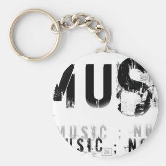 Musicnolife Key Chain