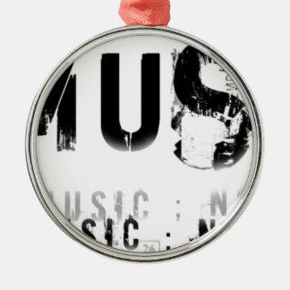 Musicnolife Metal Ornament