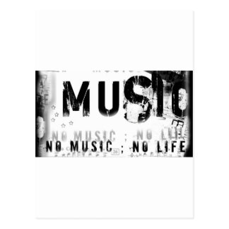 Musicnolife Postcard