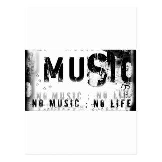 Musicnolife Tarjetas Postales
