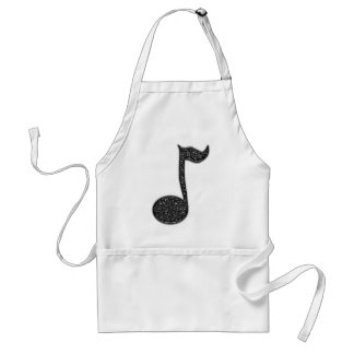 Musicnote Abstract apron