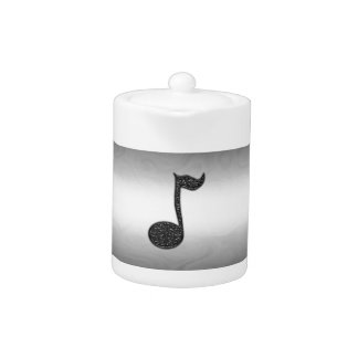 Musicnote Abstract teapot