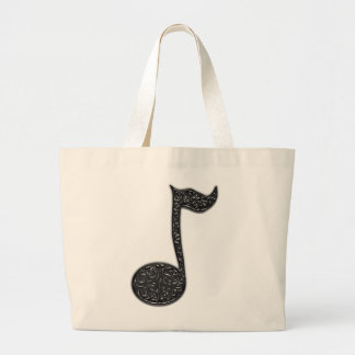 Musicnote Abstract tote bag