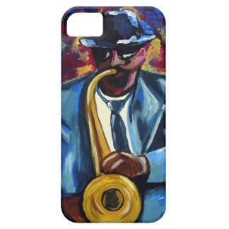 Músico afroamericano iPhone5 del jugador de iPhone 5 Carcasas
