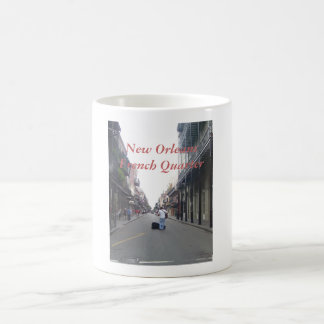 Músico de la calle taza de café