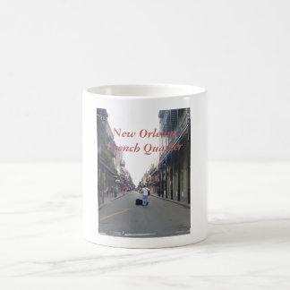 Músico de la calle taza clásica