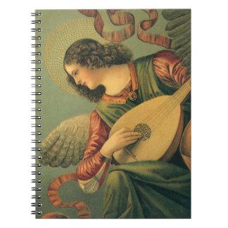 Músico del ángel, Melozzo DA Forli, arte Libros De Apuntes