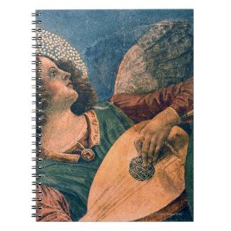 Músico del ángel notebook