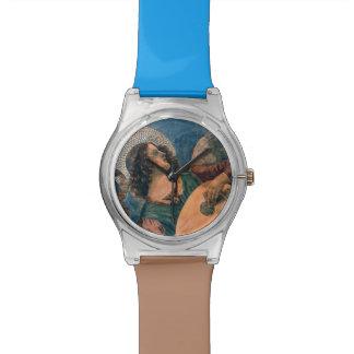 Músico del ángel relojes de mano