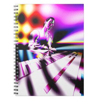 Músico FX del teclado Libro De Apuntes