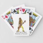 músico largo yellow.png del hombre de la guitarra  baraja cartas de poker