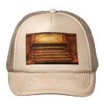 Músico - organista - el órgano gorra