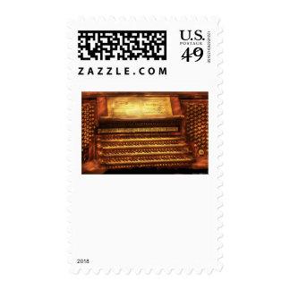 Músico - organista - el órgano franqueo