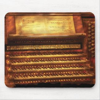 Músico - organista - el órgano alfombrillas de raton