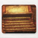 Músico - organista - el órgano tapetes de ratones