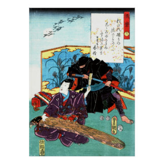 Músico y Ninja 1853 Posters