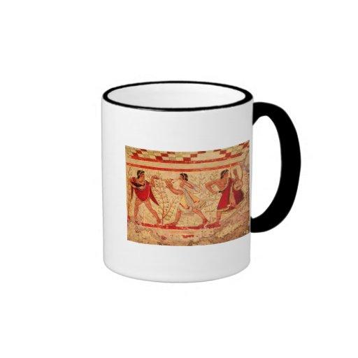 Músicos de Etruscan Taza De Café