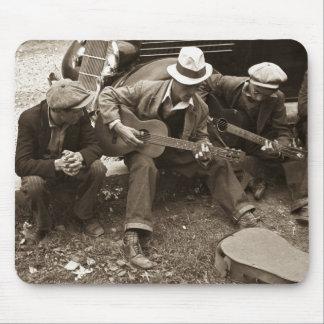 Músicos de la calle, Maynardville, Tennessee, 1935 Alfombrillas De Raton