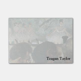 Músicos de la orquesta de Edgar Degas el | Nota Post-it