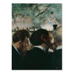 Músicos de la orquesta de Edgar Degas el | Postal
