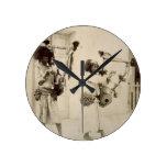 Músicos de Nubian (foto de la sepia) Reloj