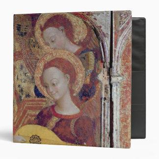 """Músicos del ángel de la pintura de la Virgen y del Carpeta 1 1/2"""""""