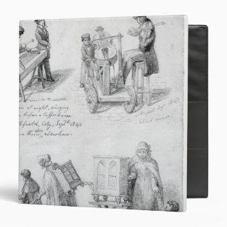 Músicos en las calles de Londres 1841-43
