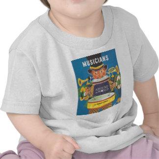 Músicos en todo el mundo camiseta