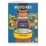 Músicos en todo el mundo tarjetas
