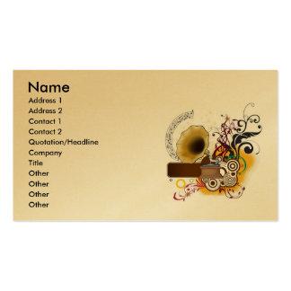musicr, Name, Address 1, Address 2, Contact 1, ... Business Card Templates