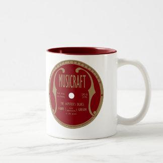 Musicraft Label Two-Tone Coffee Mug