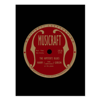 Musicraft Label Post Card