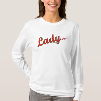 MusicToon : Lady in Red, I Love You : T-shirt