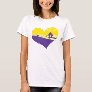 MusicToon : Walking Hand in Hand T-Shirt