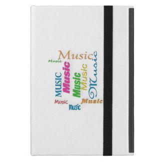 MusicWord Cloud 3 iPad Mini Case