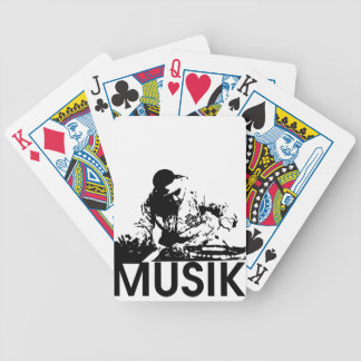 Musik Bicycle Playing Cards