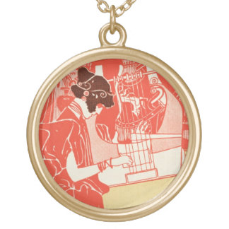 Musik Gold Plated Necklace