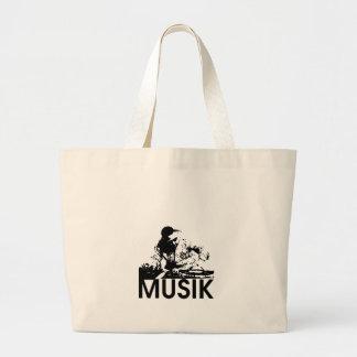 Musik Large Tote Bag