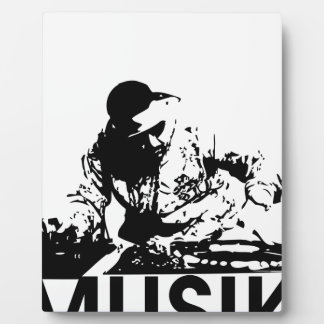 Musik Plaque