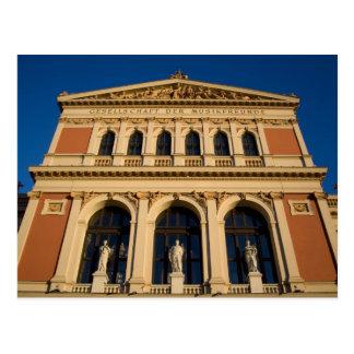 Musikverein Viena Austria Tarjeta Postal
