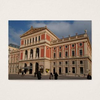 Musikverein, Wien Österreich Business Card