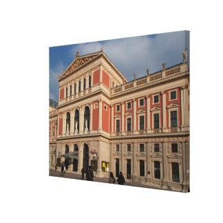 Musikverein, Wien Österreich Canvas Print