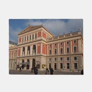 Musikverein, Wien Österreich Doormat